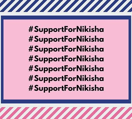 #SupportForNiksiha